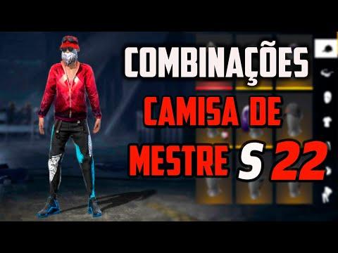 MELHORES COMBINAES COM CAMISA DE MESTRE TEMPORADA 22 - S COMBINAES TOP