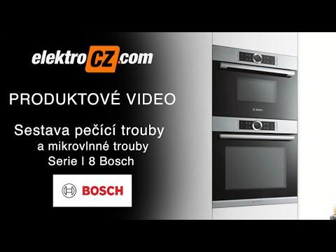 Sestava pečící trouby a mikrovlnné trouby Serie | 8 Bosch