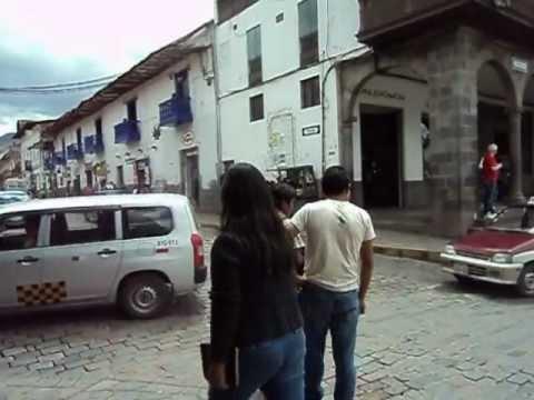 CUSCO Plaza de Armas, Cortesía Vial....AVI