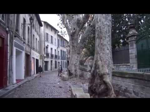 Avignon, France part 1, walking tour in