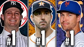 RANKING THE BEST PITCHERS (SP) FROM EVERY MLB TEAM