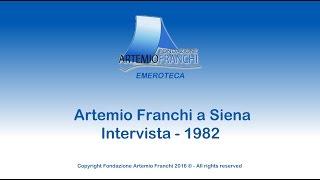 Artemio Franchi intervista 1982