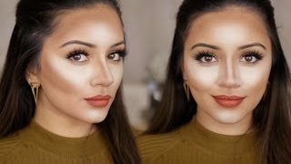 My Current Powder Contour & Highlight Routine