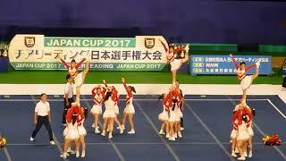 優勝箕面自由学園高校GOLDENBEARS決勝JAPANCUP2017