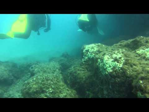 Golden Rock / Golden Reef, Golden Reef (Rock),Bucht von Chersonisssos,Griechenland
