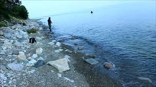 Летняя рыбалка на байкале с берега