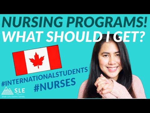 BEST NURSING PROGRAMS - International students in Canada - Tuition Fee | Scholarships | PR in Canada
