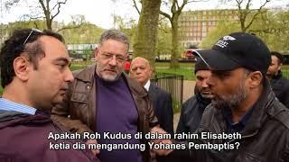 Tuhan Tidak Tahu! Hashim Vs Christian   Speakers Corner   Hyde Park   Hardsub