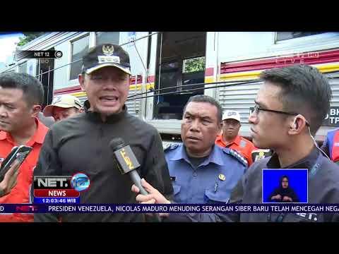Kereta Jurusan Jatinegara Bogor Anjlok Di Wilayah Kebon Pedes
