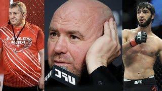 Отец о гонораре Хабиба, Дана Уайт об отношениях с Хабибом и будущем Зубайры Тухугова в UFC
