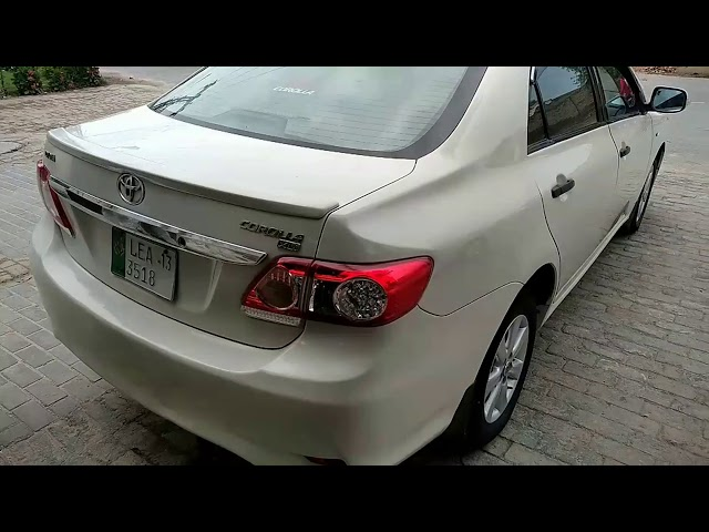 Toyota Corolla XLi VVTi 2013 for Sale in Bahawalpur