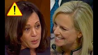Kirstjen Nielsen LAUGHS at Senator Kamala Harris and Makes Her Look Like A Fool