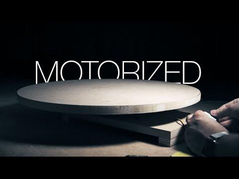 Make a Motorized Lazy Susan