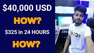 How I Got a project of $40,000 USD | How to earn from Freelancer.Com | Freelancer Nasim