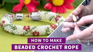 Artbeads Tutorial - Making Beaded Crochet Rope Jewelry