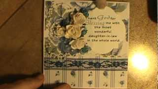 Greatest Daughter-in-law In the World Card