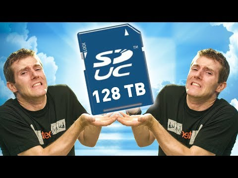 128 TERABYTES on an SD CARD!!