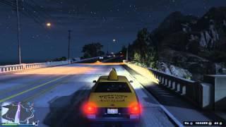 《GTA5》タクシー無賃乗車長距離
