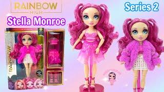 Rainbow High Series 2 Unboxing Stella Monroe