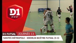 Futsal (D1) : le Nantes Métropole accroche le KB United (3-3)