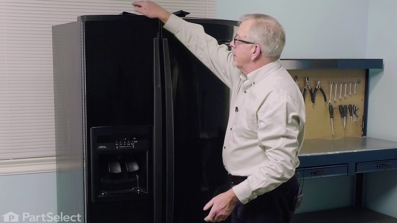 Replacing your Whirlpool Refrigerator Overflow Grille - Black