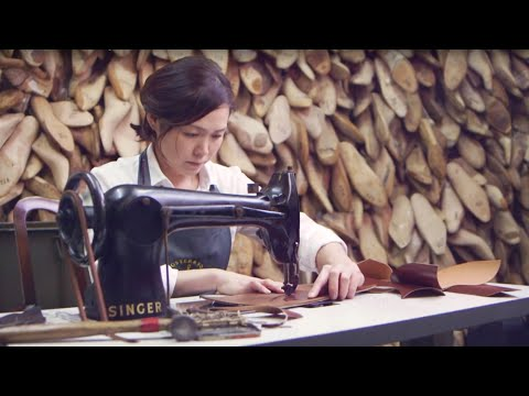 How was it made? The Art of Shoe Making by Emiko Matsuda of Foster & Son making bespoke brogues