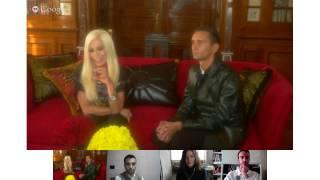 #askVersace Hangout In Diretta con Donatella Versace