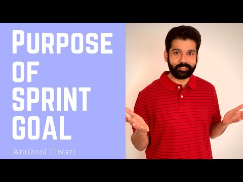 What is the purpose of Sprint goal?   Your questions and my answers