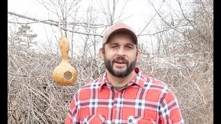 Making Birdhouses From Homegrown Gourds