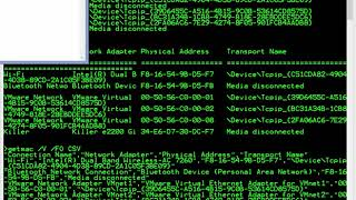 Microsoft getmac and MAC Address (Flashback)