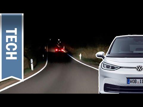 IQ.Light im VW ID.3 im Test: Nachtfahrt mit Matrix-LED-Scheinwerfern & Dynamic Light Assist