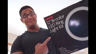 The sunpak 12'' Light Kit Review