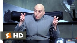 Throw Me a Frickin' Bone Here Scene - Austin Powers: International Man of Mystery Movie (1997) - HD