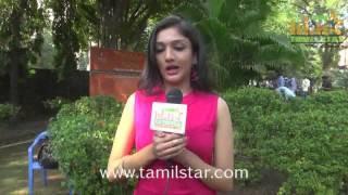 Swasthika at Aayirathil Iruvar Team Interview