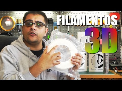 TIPOS DE FILAMENTOS 3D PARA IMPRESORAS 3D - GUÍA DEFINITIVA