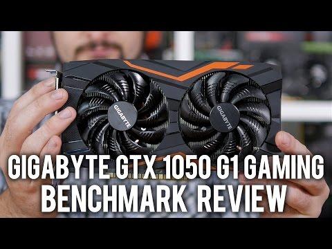 Gigabyte GTX 1050 G1 Gaming 2G Review