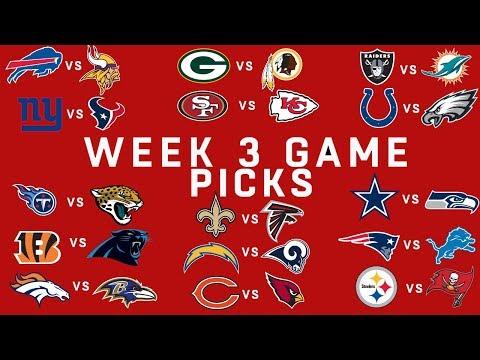 Week 3 NFL Game Picks | NFL