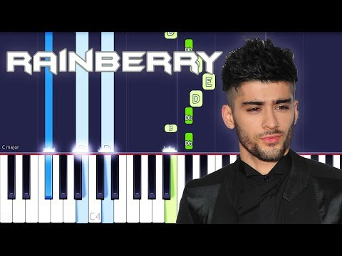 ZAYN - Rainberry Piano Tutorial EASY (Piano Cover)