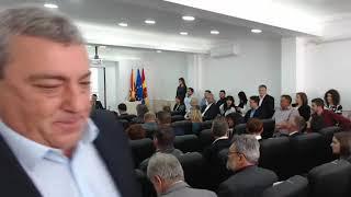 Свечена седница на Советот на Општина Крива Паланка