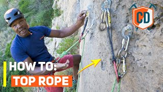 How To Set Up A Top Rope Anchor | Climbing Daily Ep.1761 by EpicTV Climbing Daily