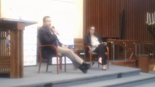 Neo-Confederate Corey Stewart Q&A at Temple Rodef Shalom (5/21/17)