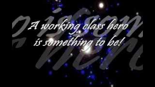 Working Class Hero - The Academy Is... (WITH LYRICS)