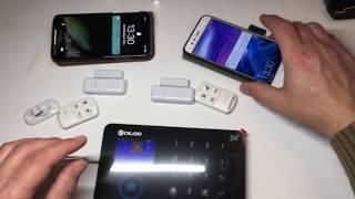 Haus Alarmanlage GSM mit Handy App für 115€ ? Was taugt es ?