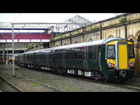 An hour of action at Crewe Station 14th April 2017