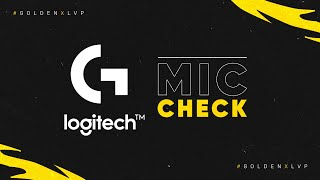 Final Regional Norte: Logitech Mic Check