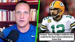 AJ Hawk Reacts To Aaron Rodgers Talking Packers Drafting Jordan Love