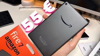 """AMAZON Fire 7 Tablet UNBOXING - Ein 55 € Tablet mit """"niedlich"""" Garantie"""