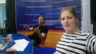 гатчинское Радио Прямой эфир с Олегом Богдановыми Марией Сотемской