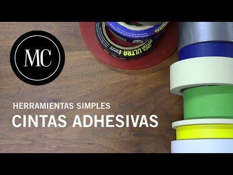 Cintas adhesivas. Diferentes tipos, usos y tips.