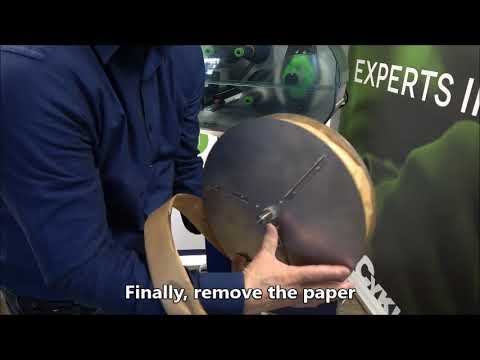 Elastobinder: Installing Strepper roll